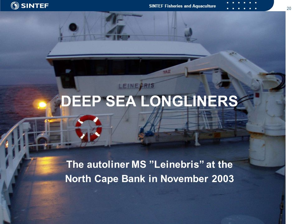 The autoliner MS Leinebris at the North Cape Bank in November 2003