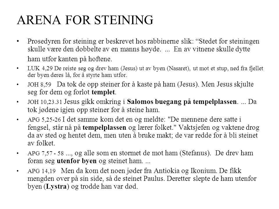 ARENA FOR STEINING