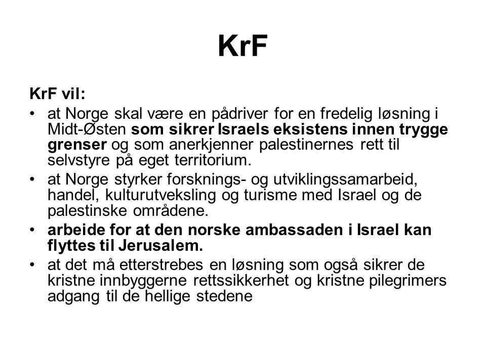 KrF KrF vil:
