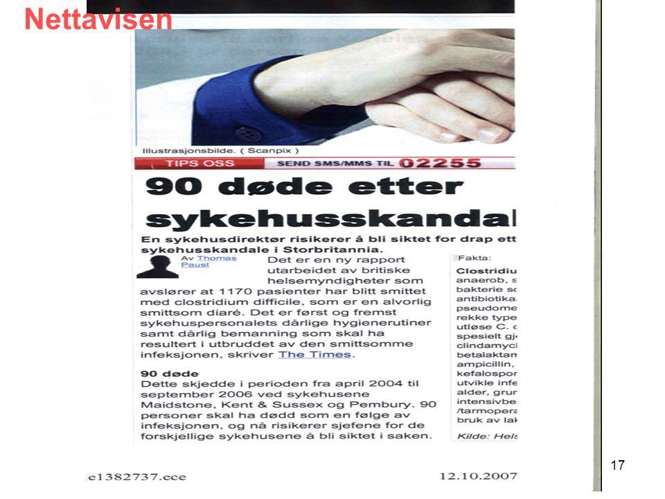 Nettavisen SUSH-møte 7. mai 2008