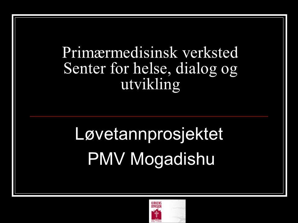 Primærmedisinsk verksted Senter for helse, dialog og utvikling