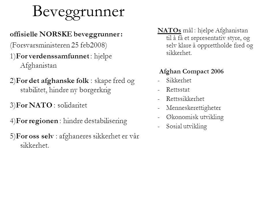 Beveggrunner offisielle NORSKE beveggrunner :