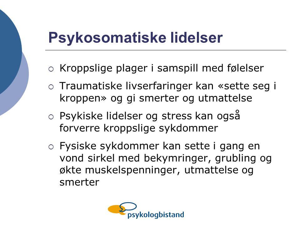 Psykosomatiske lidelser