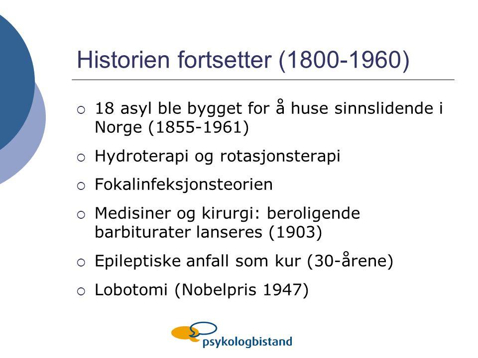 Historien fortsetter (1800-1960)