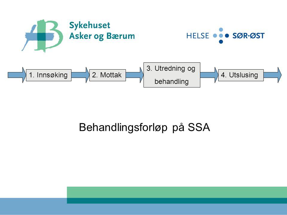 Behandlingsforløp på SSA