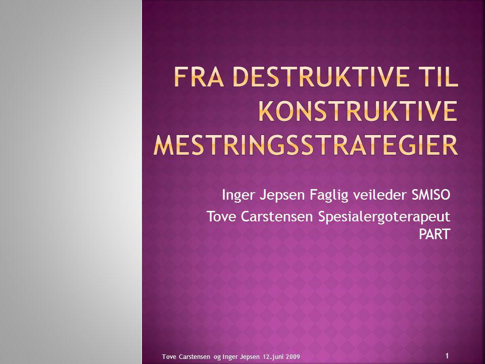 Fra destruktive til konstruktive mestringsstrategier