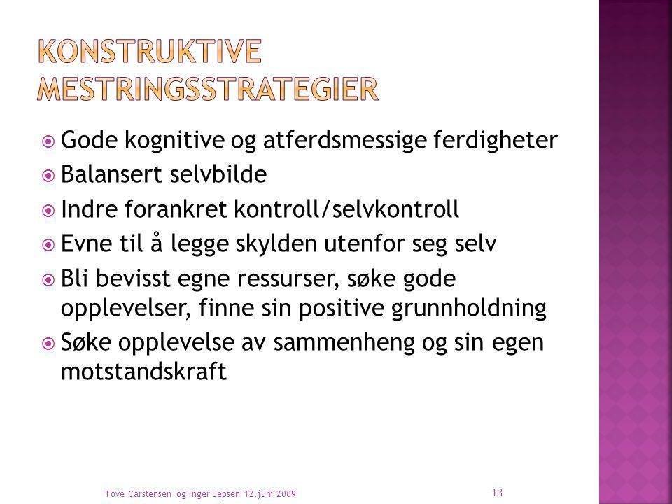 Konstruktive mestringsstrategier