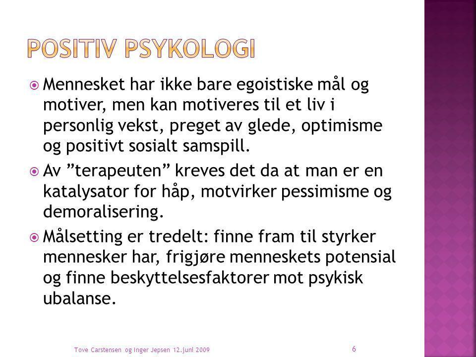 Positiv psykologi