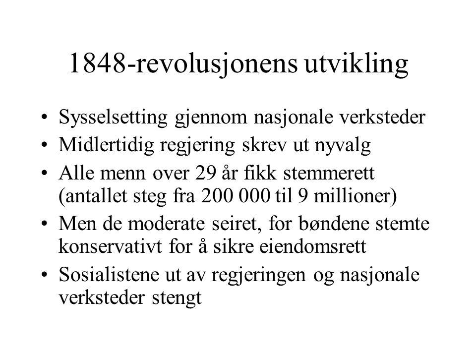 1848-revolusjonens utvikling