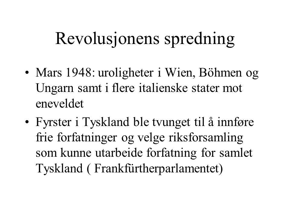 Revolusjonens spredning