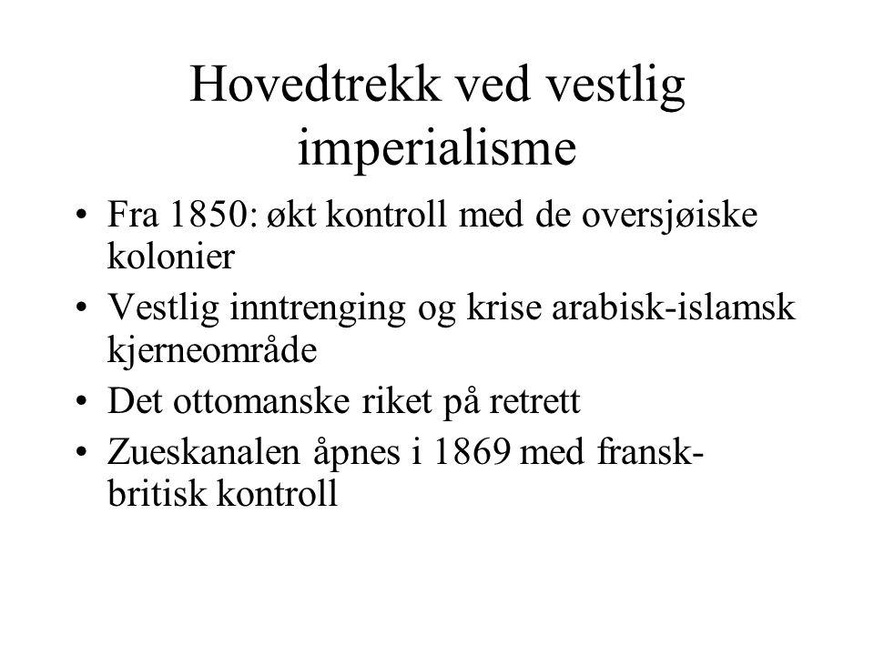 Hovedtrekk ved vestlig imperialisme