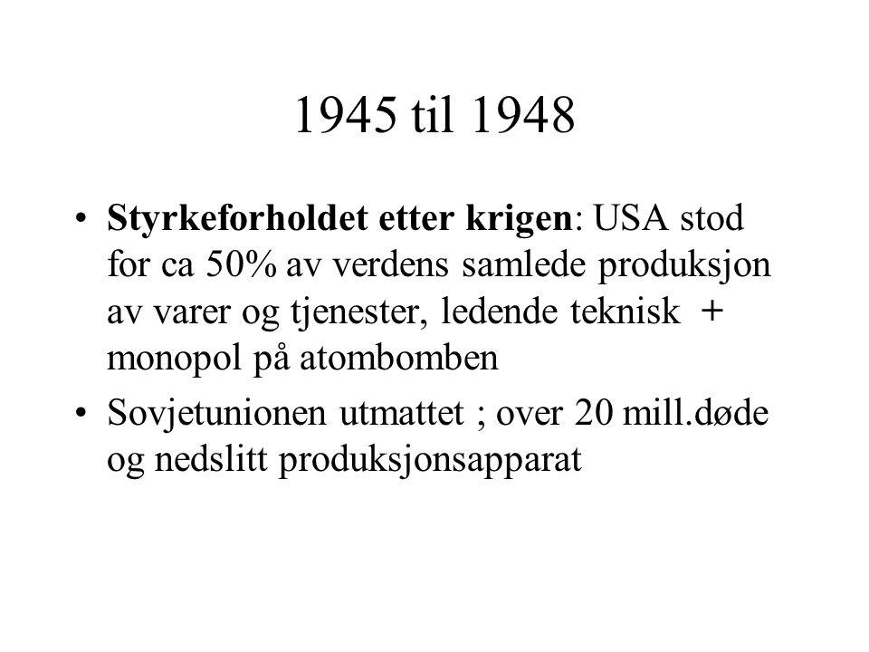 1945 til 1948