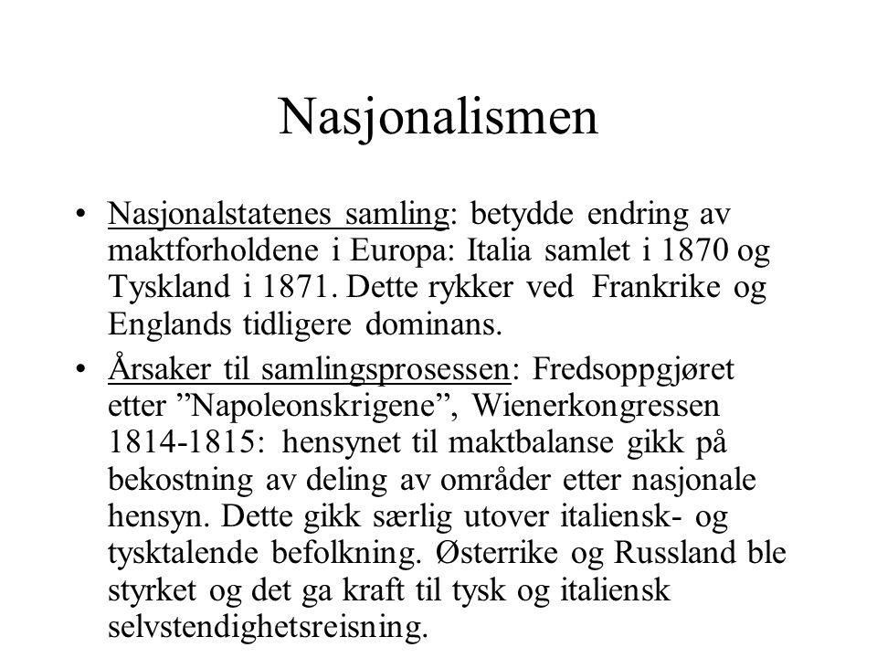 Nasjonalismen