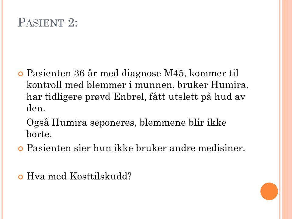 Pasient 2: