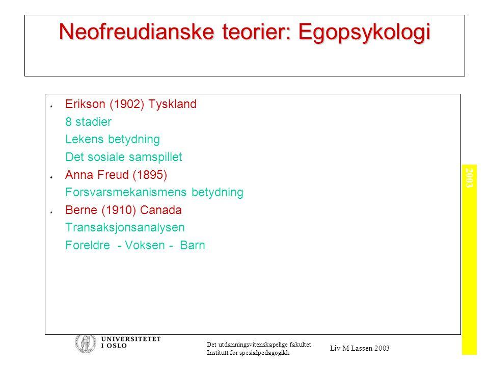 Flere psykoanalytikere…...