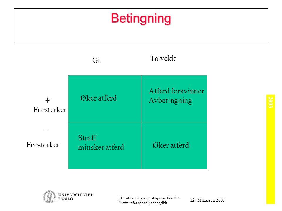 Operant betingning (Skinner)