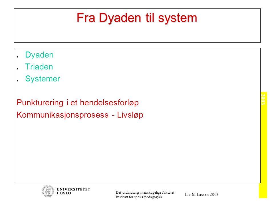 Systemteori - Kommunikasjon