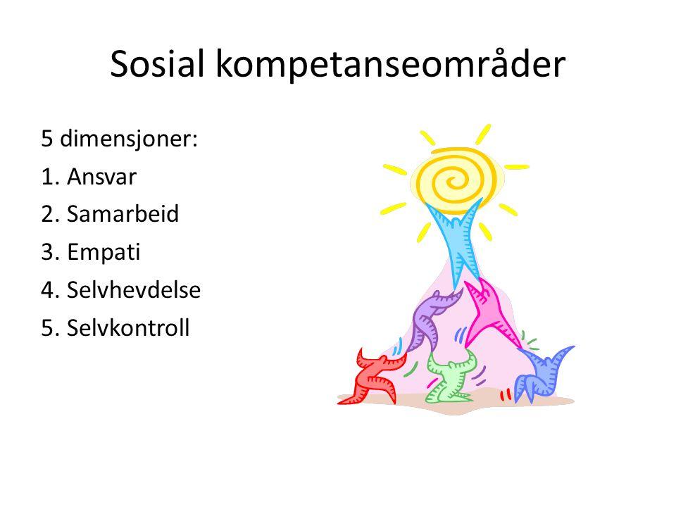 Sosial kompetanseområder