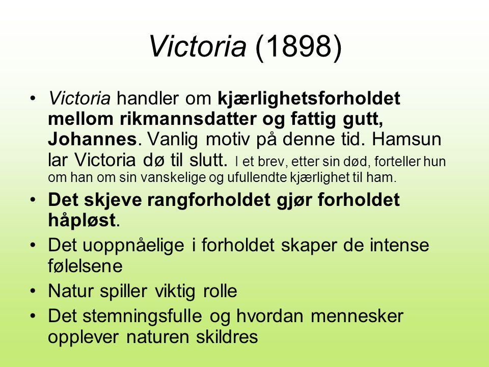 victoria knut hamsun