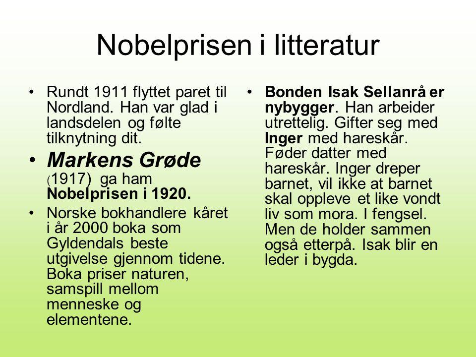 Nobelprisen i litteratur