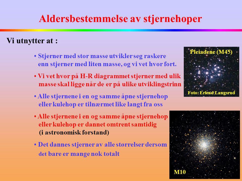 Aldersbestemmelse av stjernehoper
