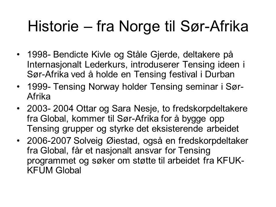 Historie – fra Norge til Sør-Afrika