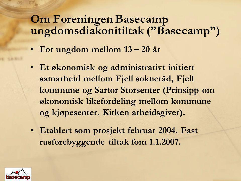 Om Foreningen Basecamp ungdomsdiakonitiltak ( Basecamp )