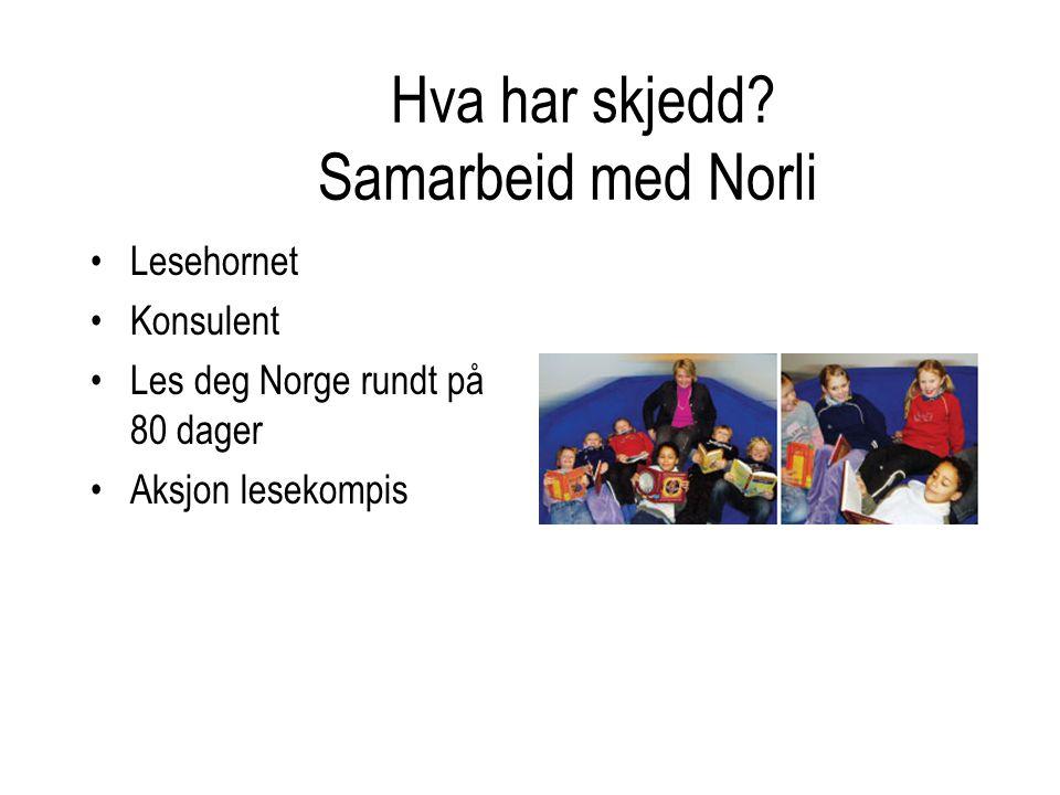 Hva har skjedd Samarbeid med Norli