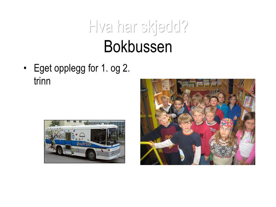Hva har skjedd Bokbussen