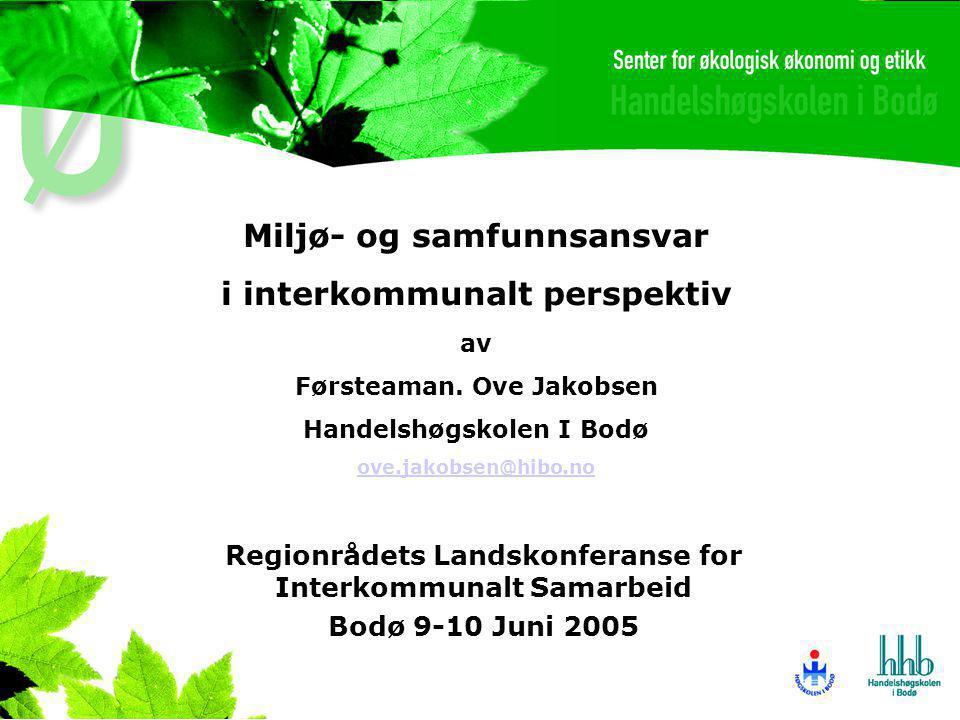 Regionrådets Landskonferanse for Interkommunalt Samarbeid