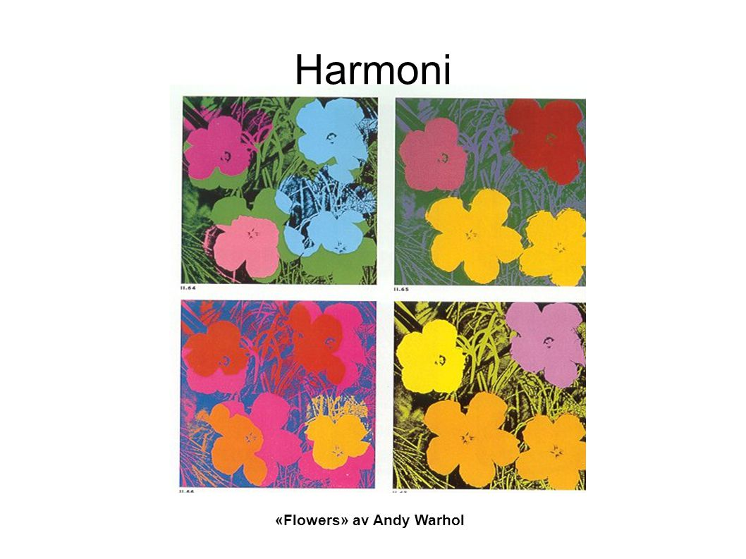 «Flowers» av Andy Warhol