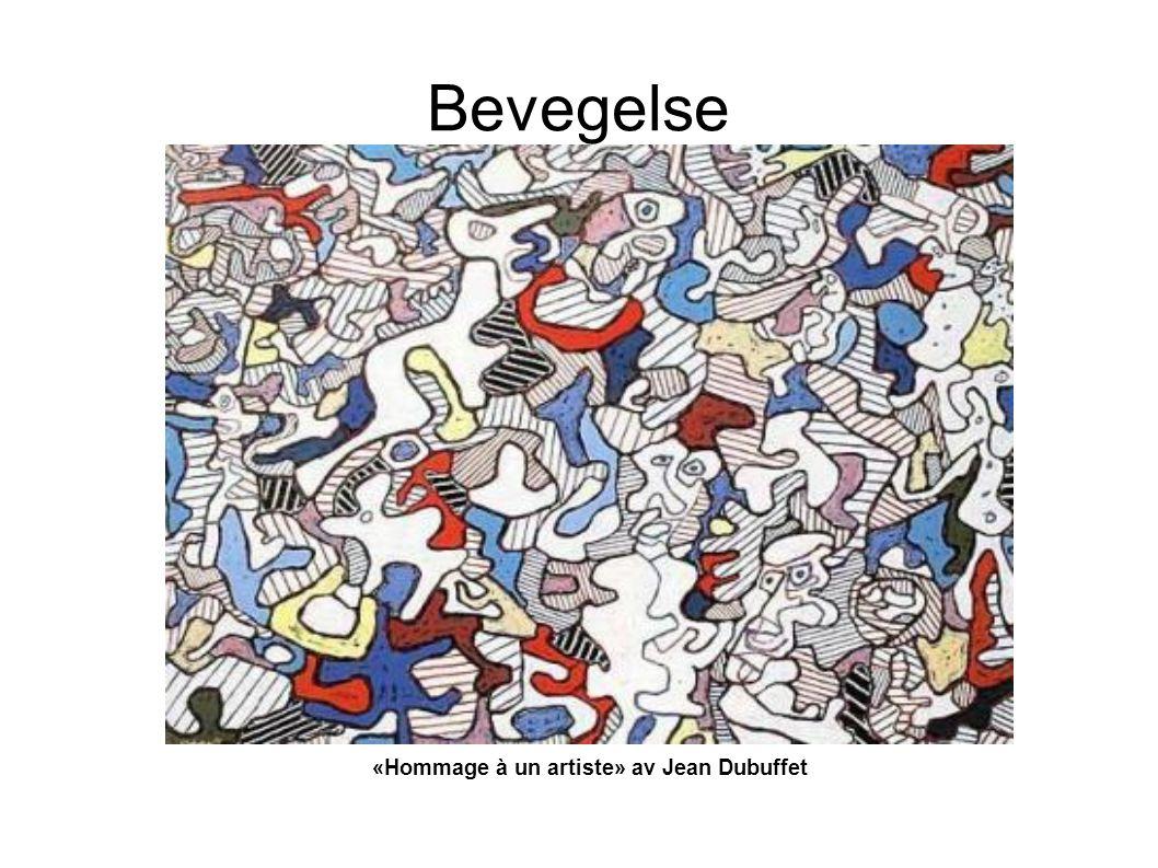 «Hommage à un artiste» av Jean Dubuffet