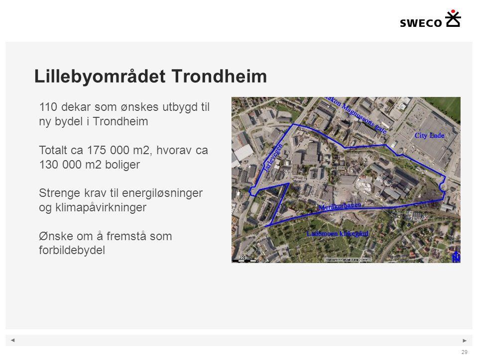 Lillebyområdet Trondheim