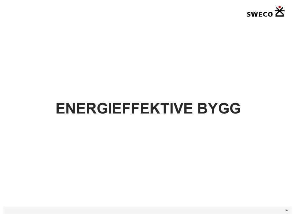 ENERGIEFFEKTIVE BYGG