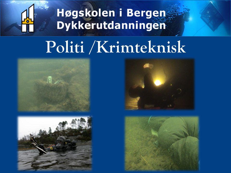 Politi /Krimteknisk