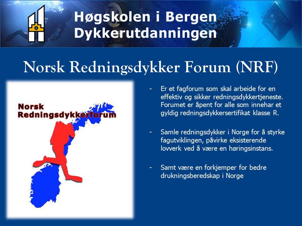 Norsk Redningsdykker Forum (NRF)
