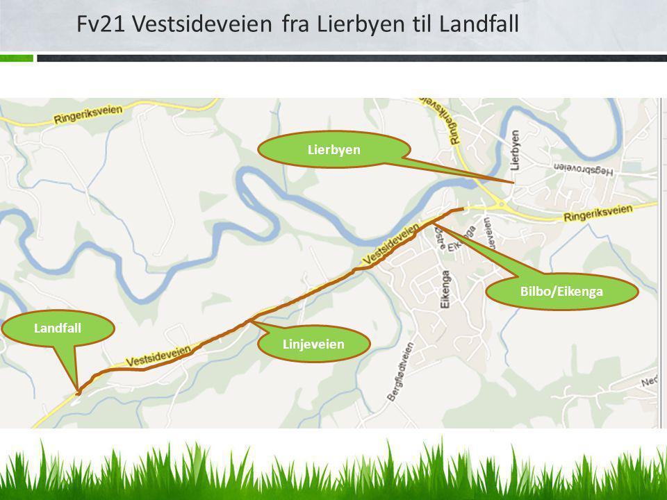 Fv21 Vestsideveien fra Lierbyen til Landfall