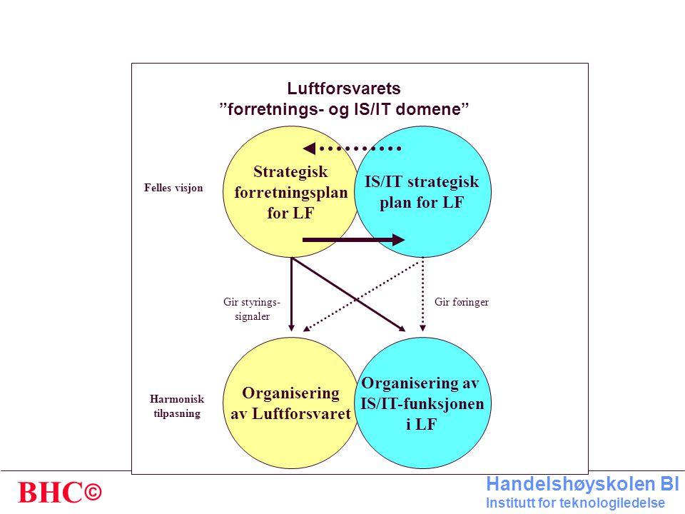 forretnings- og IS/IT domene