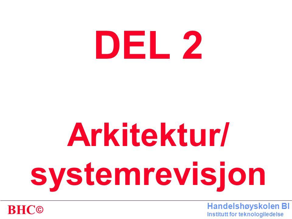DEL 2 Arkitektur/ systemrevisjon