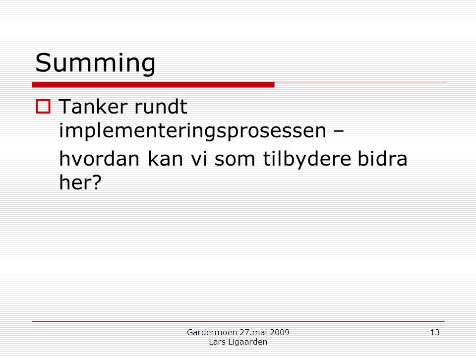 Gardermoen 27.mai 2009 Lars Ligaarden