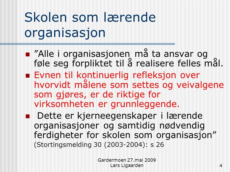 Skolen som lærende organisasjon