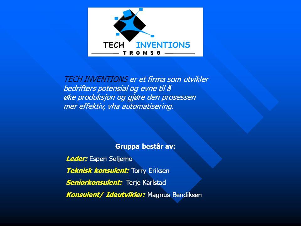 TECH INVENTIONS er et firma som utvikler