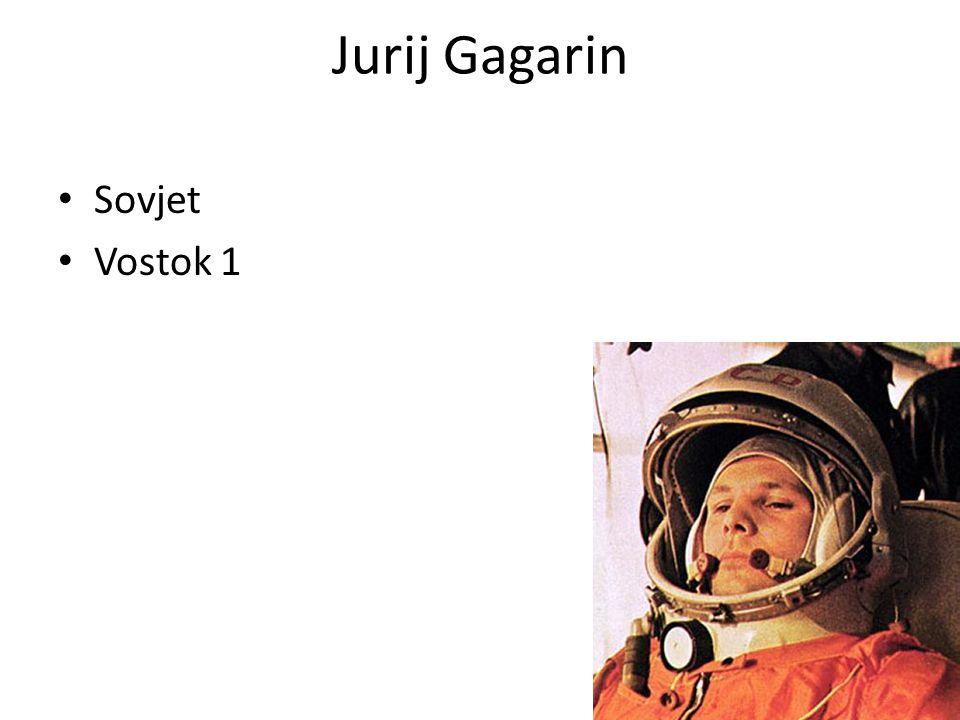 Jurij Gagarin Sovjet Vostok 1