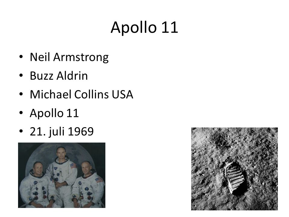 Apollo 11 Neil Armstrong Buzz Aldrin Michael Collins USA Apollo 11