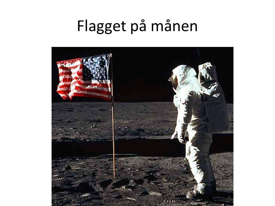 Flagget på månen