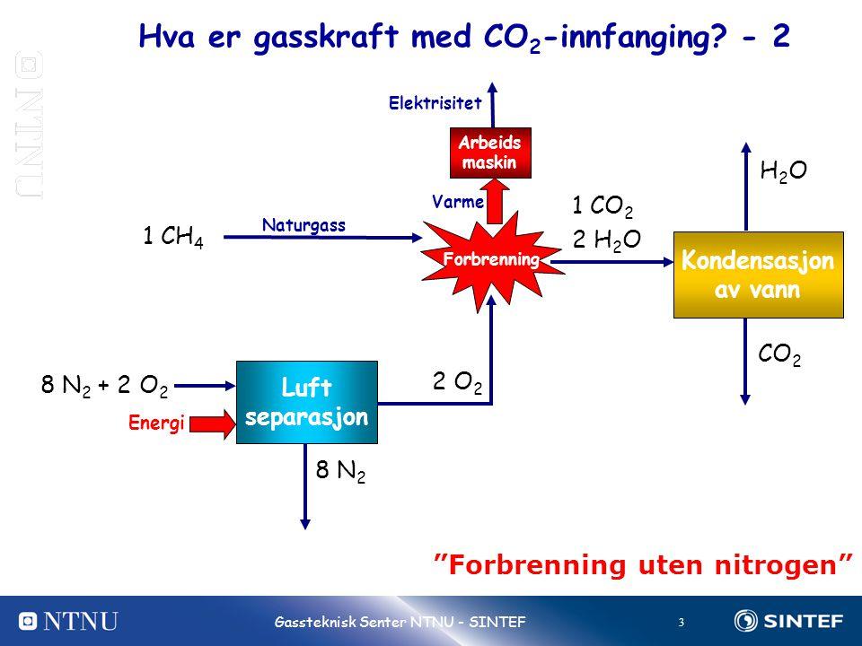 Hva er gasskraft med CO2-innfanging - 2