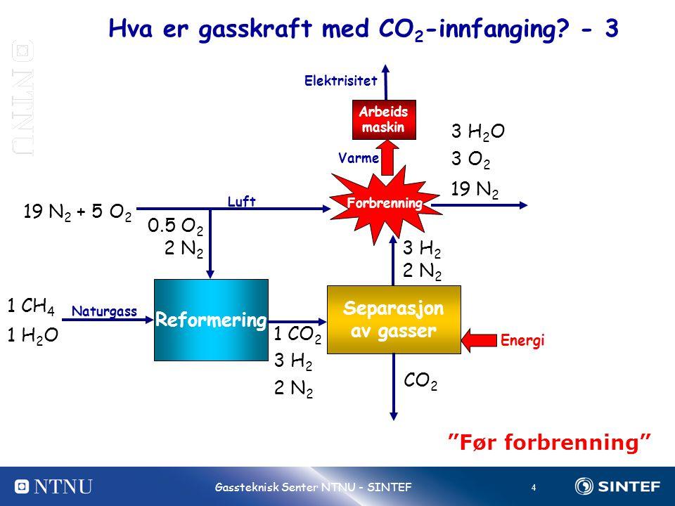Hva er gasskraft med CO2-innfanging - 3