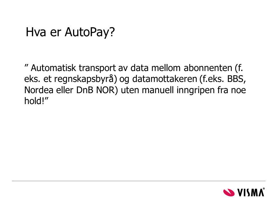 Hva er AutoPay