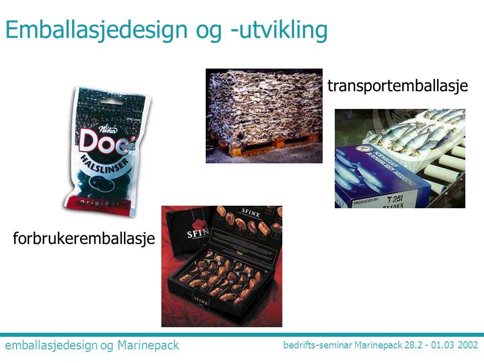 Emballasjedesign og -utvikling