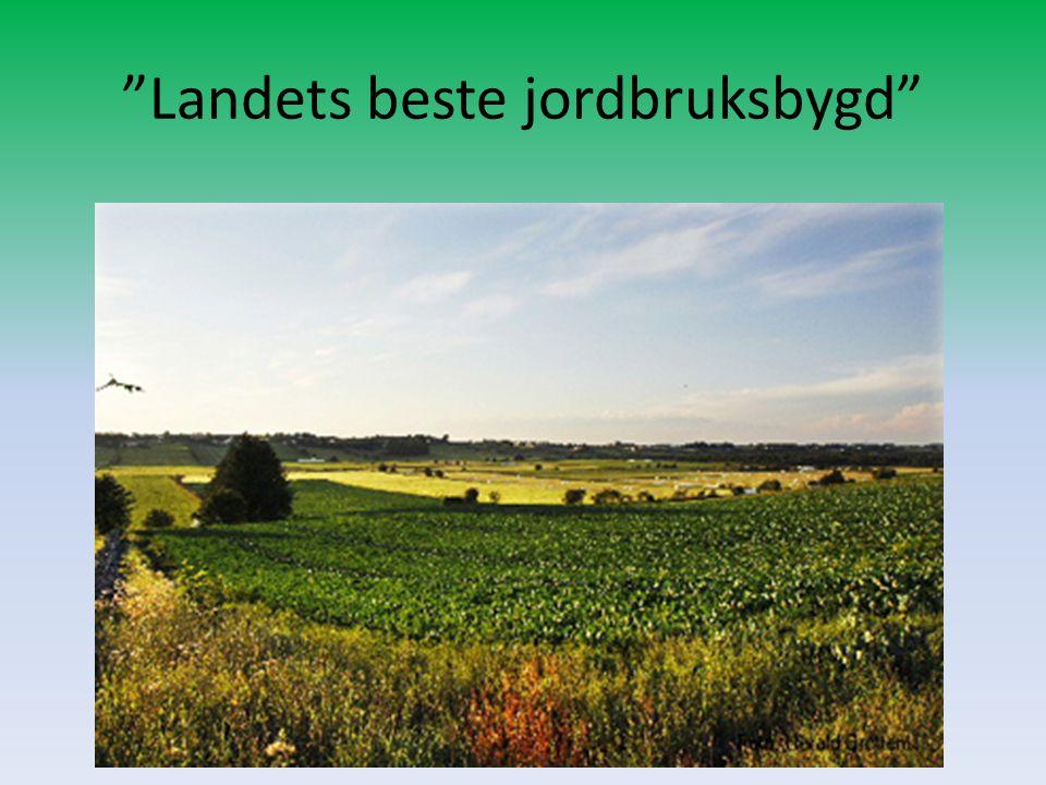 Landets beste jordbruksbygd